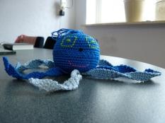 Octopus blauw