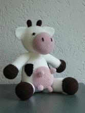 Zittende koe