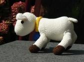 Het geitje in opdracht van Adri gemaakt voor Sophia