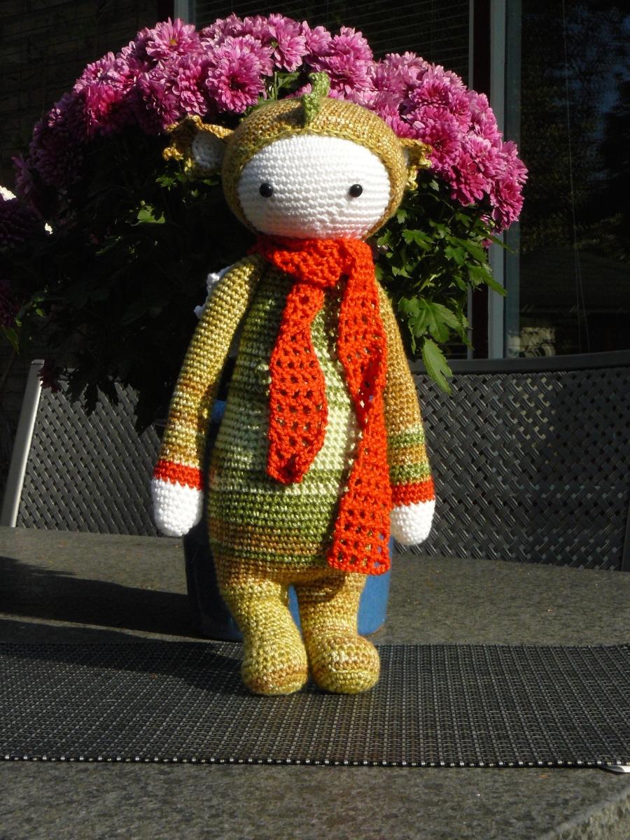 Dit patroon cadeau gekregen en het verzoek om een draak te geven aan het Sophie Kinderziekenhuis