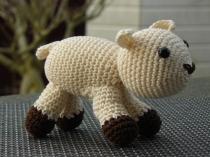 Dit is het lam wat bij het grote schaap hoort